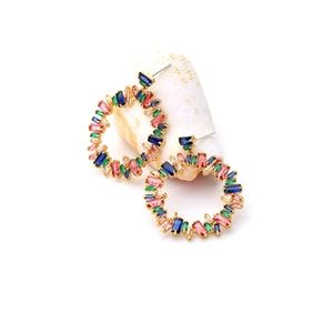 HH Annette Bejeweled Hoops